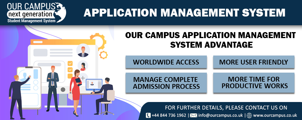 Application Management System by Our Campus software