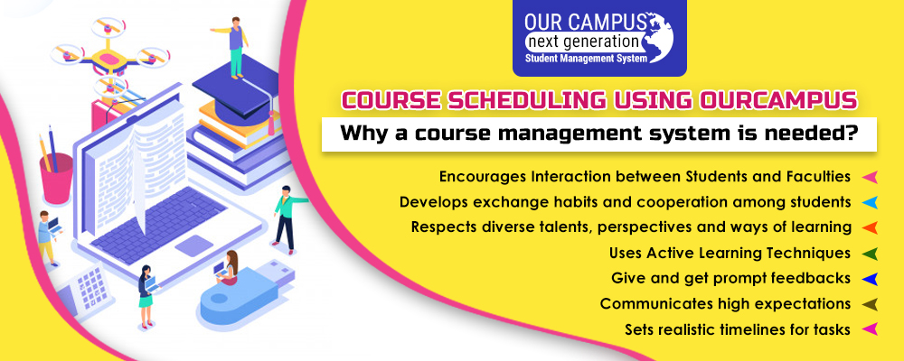 Course Scheduling Using Ourcampus Software